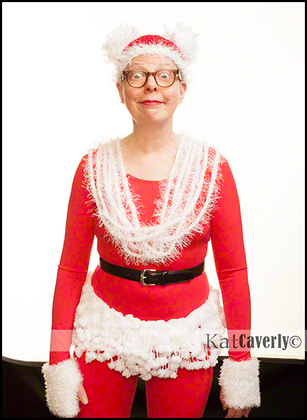 Kat Caverly, self-portrait, December 23, 2013