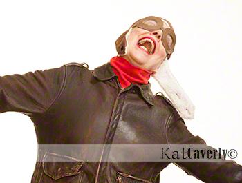 Kat Caverly self-portrait no.2 copyright KCS October 6, 2012